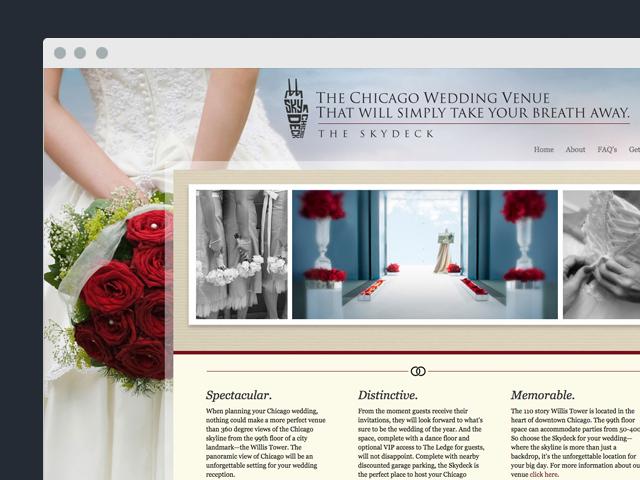 Wedding.TheSkydeck.com