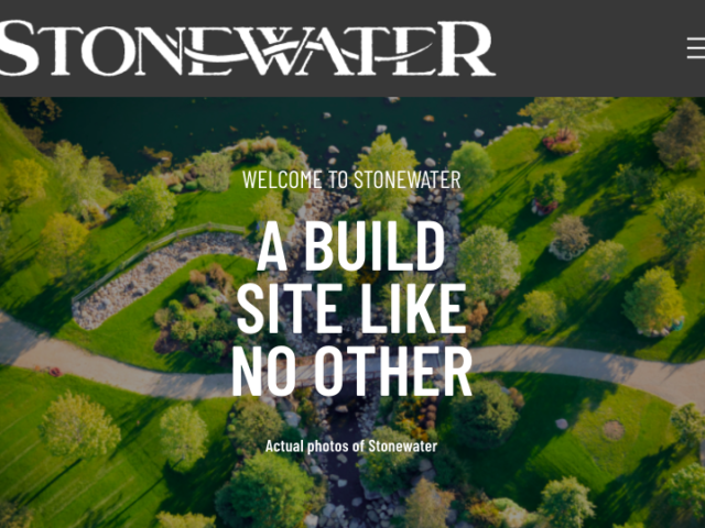Stonewater Website