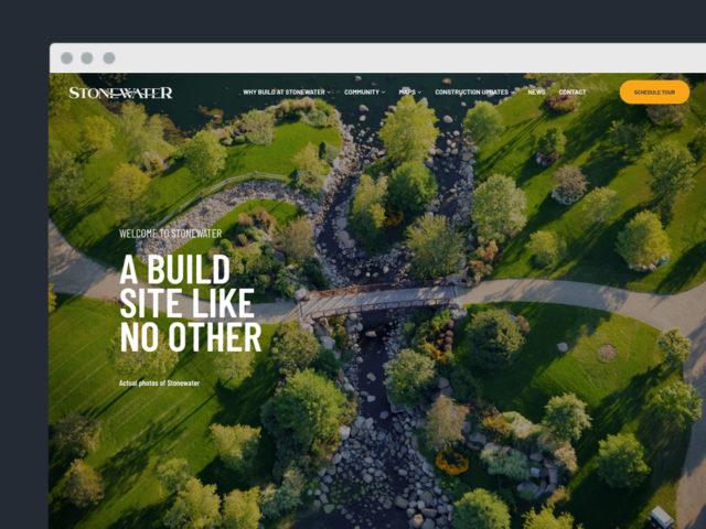 Stonewater Website