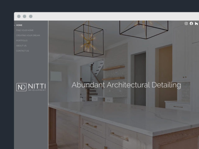 Nitti Development Website